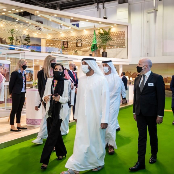 The Arabian Travel Market becomes the first in-person travel & tourism event to take place since the start of the pandemic
