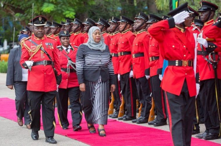 Tanzania's president in a bid to improve Kenya ties